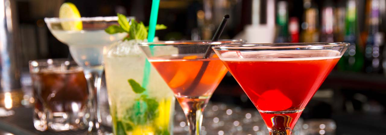 Cocktails header